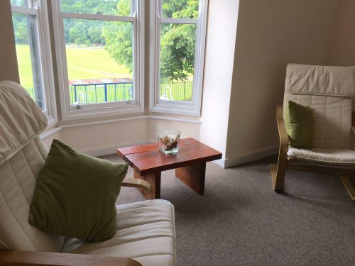 Park view room at Clearview Counselling